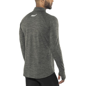 inov-8 Train Elite Mid LS Zip Shirt Herren dark grey
